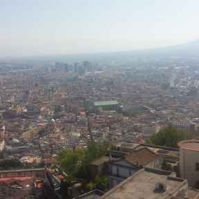 View from the Castel San'Elmo